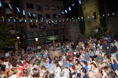 Ismael Dorado pregonó las fiestas del barrio de Puerta Zamora