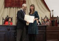 La talaverana Miriam Borham recibe el Premio Extraordinario de Doctorado de la Universidad de Salamanca