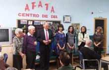 Un usuario de AFATA recibe un premio en el XIII Certamen Artístico Iberoamericano