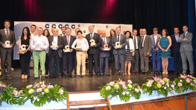 La cadena Cope Talavera entrega sus VI Premios en el Teatro Victoria