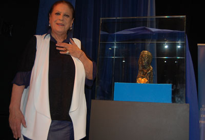Alfombra roja en Talavera para acoger los I Premios de Cine 'Terele Pávez'