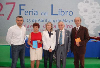 Ignacio Caparrós y Marga Mayordomo, Premios Poesía 'Rafael Morales' y 'Joaquín Benito de Lucas'