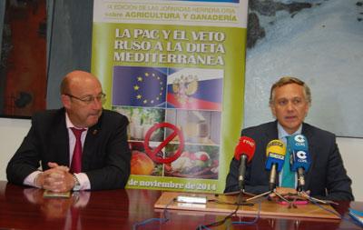 Las jornadas Herrera Oria se centra en el veto ruso a la agricultura y ganadería española