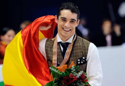 Lagartera se prepara para homenajear este sábado al Campeón del Mundo de patinaje artístico Javier Fernández
