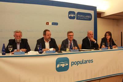El Comité Ejecutivo Provincial del Partido Popular de Toledo aprueba la propuesta de diputados provinciales