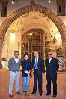 Ramos anunciará en breve plazo la apertura de la Iglesia del Salvador como centro cultural