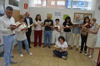 Alumnos del Lope de Vega participan en el Proyecto Mandarache con el escritor Alfredo Gómez Cerdá
