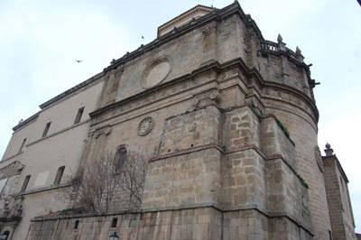 El proyecto para rehabilitar la Iglesia de Santa Catalina tiene un montante de 1,2 millones de euros