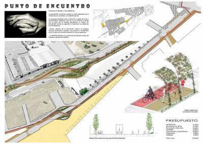 La entrada a Patrocinio como 'punto de encuentro' gana el concurso de ideas del Urban