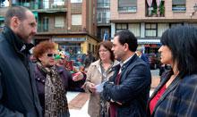 Gutiérrez agradece la iniciativa de los vecinos de Talavera frente a la 'ausencia' del PP