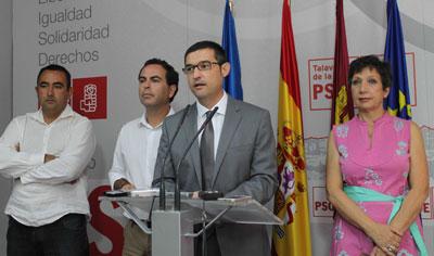 El PSOE señala que con los 6 millones de Ciudad de Vascos se podrían hacer 9 planes de ayuda a los municipios talaveranos