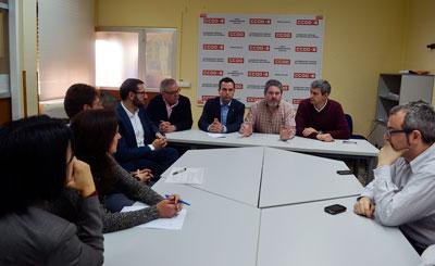 PSOE y CCOO coinciden en aplicar voluntad y estrategia para acabar con el desempleo en Talavera