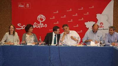 La Ejecutiva del PSOE de C-LM ratifica el pacto con Podemos