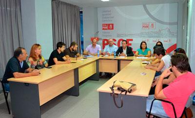PSOE crea un grupo de trabajo para que Talavera se beneficie del Plan Extraordinario y Urgente por el Empleo de la Junta