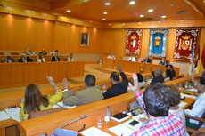 El PSOE pedirá la celebración de los plenos en horario vespertino