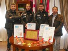 La Puebla de Montalbán reconoce la labor del Campeón del Mundo Fernando Lurueña