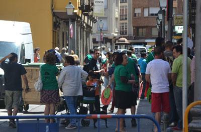 Malestar y duras críticas por las medidas de seguridad en el Día de la Región celebrado en Talavera