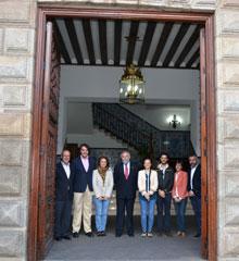 La puerta Noble del Ayuntamiento de Talavera se abre al turismo