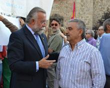 """Santiago Muñoz: """"los diferentes gobiernos regionales no han tenido narices a cortar el trasvase"""""""