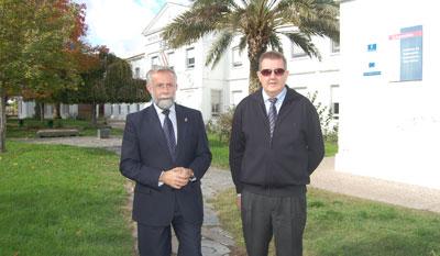 Ramos alaba el trabajo realizado por el IES San Isidro en torno al sector primario