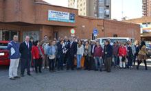 El Ayuntamiento cede a ATAFES el antiguo centro de salud de La Solana para su actividad