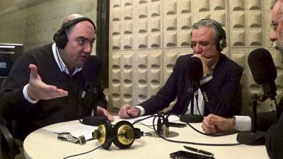 Jesús Olmedo y Alberto Retana entrevistan en La Unica FMal alcalde de Talavera, Jaime Ramos