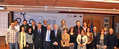 Ramos clausura el programa Creación y Consolidación de Empresas y Autoempleo de Talavera