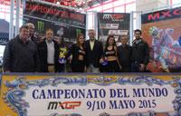 La prueba del Mundial de Motocross en Talavera se promociona en Madrid