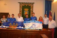 Nadadores del CN Talavera, recibidos en el Consistorio por su actuación en el Open de Zaragoza