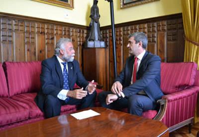 Ramos pide a la Diputación de Toledo su implicación con el Plan Estratégico de Talavera