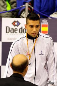 El karateka talaverano Raúl Cuerva, seleccionado para el Europeo de Zürich