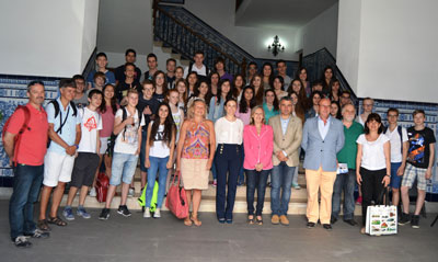21 alumnos alemanes participan en el programa 'Eclipse' con el IES Padre Juan de Mariana