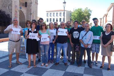 IU pedirá una reunión al comisario de la Talavera para abordar las sanciones por manifestarse