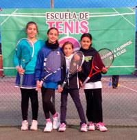 El Regional de Tenis Alevín Femenino se tiñe del color blanquiazul