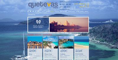 'Quetevas.com', una nueva forma de viajar al mejor precio