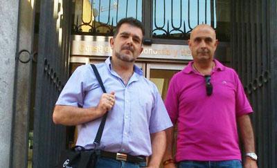 El CSIF denuncia que la Consejería de Hacienda ha impedido el paso a dos de sus delegados sindicales