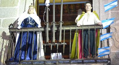 El trío amoroso de María de Portugal, Alfonso XI y Leonor de Guzmán, en la Plaza del Pan