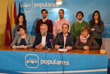 Gregorio: 'El esfuerzo de los gobiernos de Rajoy y Cospedal ha conseguido que haya 200.000 jóvenes menos en paro que al inicio de la legislatura'