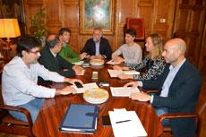 Primera reunión del Consejo Comarcal de Sanidad