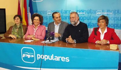 """Riolobos: """"Rajoy, Cospedal y Ramos son la mejor garantía de bajada de impuestos para los talaveranos"""""""
