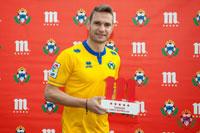 David Rodríguez es reconocido con el galardón 'Jugador Cinco Estrellas'