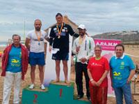 Rubén Gutiérrez, podium absoluto en la III Travesía Rotary Mariners de Elche