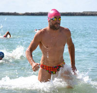 Rubén Gutiérrez, campeón de la Travesía Classic Water Sport
