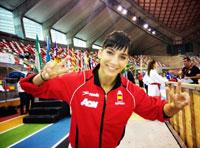 La karateka talaverana Sandra Sánchez, campeona de España en katas