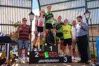 Casi un centenar de ciclistas tomaron salida en Gamonal en la segunda prueba de la Senda Viriato
