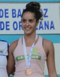 La talaverana Tamara Blázquez, bronce en el XVIII Trofeo Diputación de Badajoz
