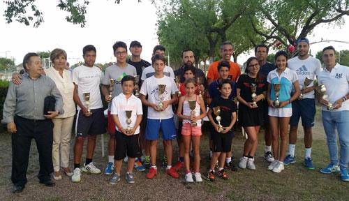 Clausura y entrega de trofeos del Open de Primavera de Los Alcores