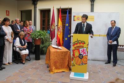 Gregorio preside el acto de toma de posesi�n del nuevo subdelegado del Gobierno en Toledo, Fernando Sanz