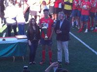 El Málaga CF se alza con el IX Torneo Internacional de Fútbol Juvenil disputado en Calera y Chozas