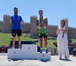 El Tritalavera sigue sumando podios en Alcaudete, Ávila y Navalcán